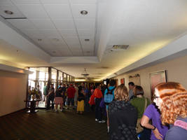 BotCon 2015 General Admission Line on Sunday