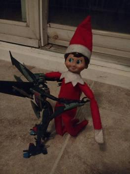 Day #1: Steve the Elf arrives!