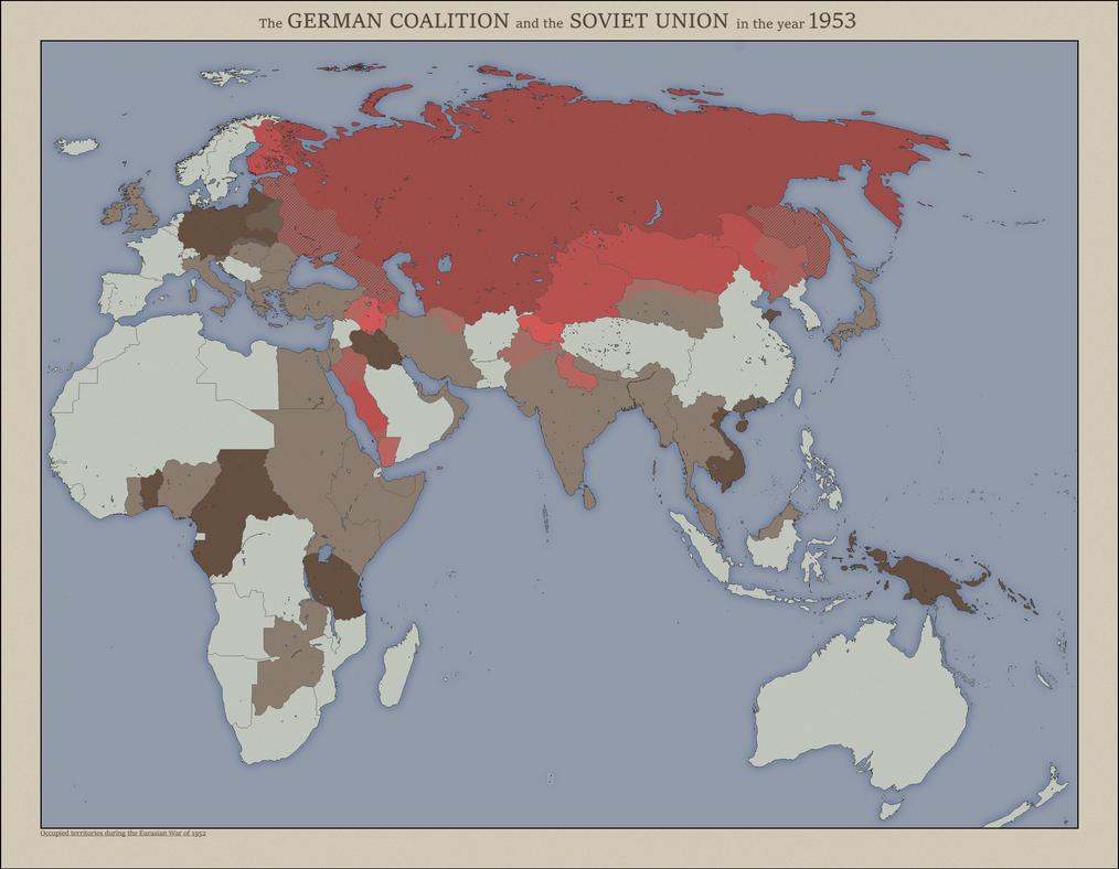 The Eurasian War by jbkjbk2310