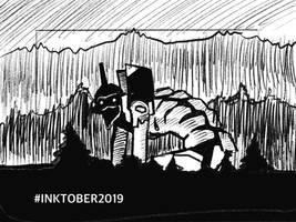 Inktober 2019-29 Injured