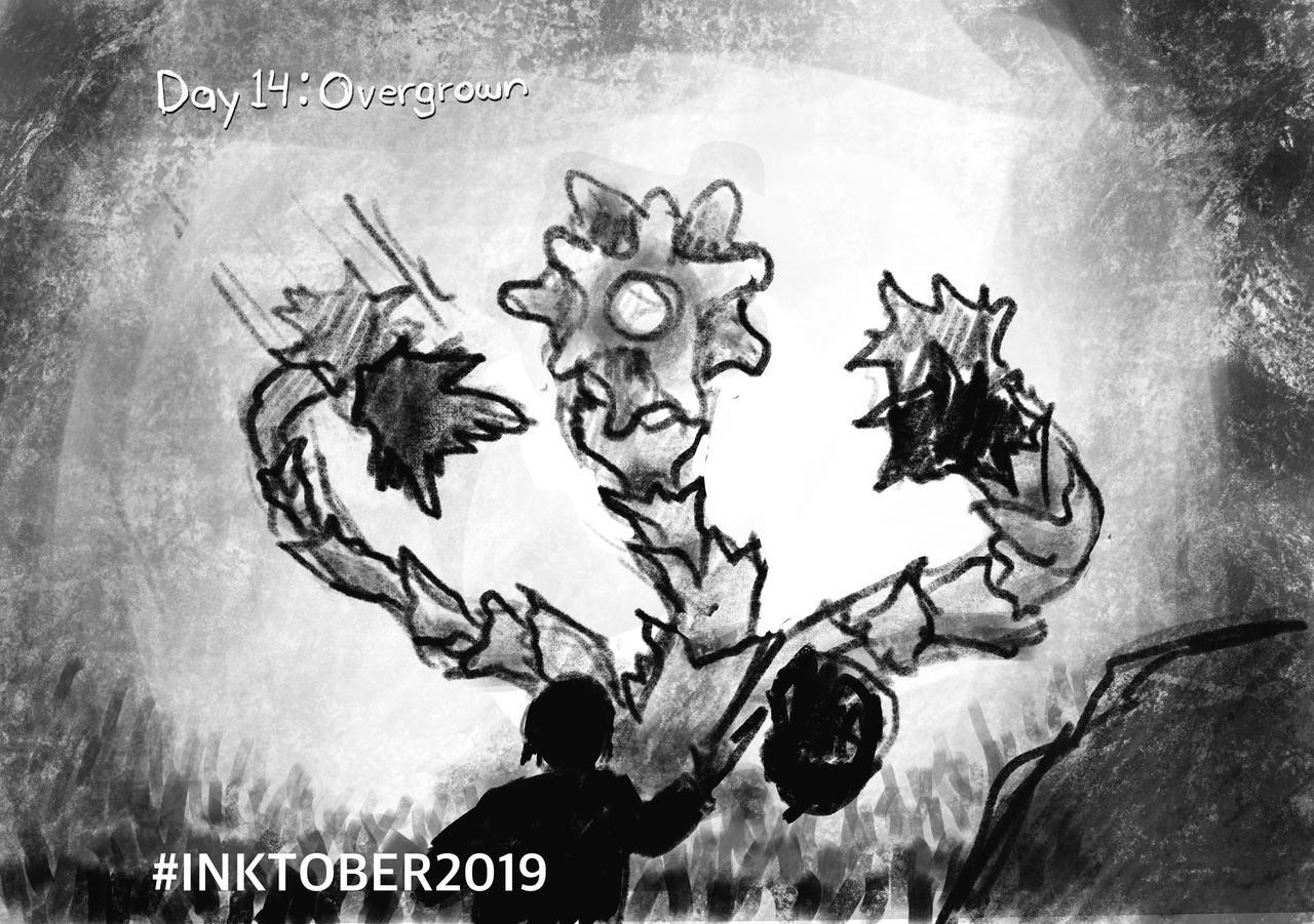 Inktober 2019-14 Overgrown