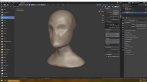 2020-03-04 Head Sculpt 1hr