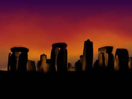 Stonehenge by veruce