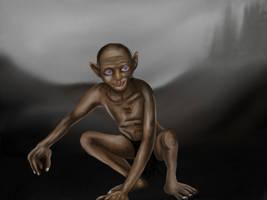 Gollum - Smeagol by veruce