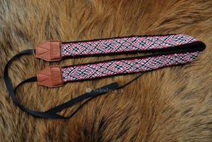 Slavic camera strap