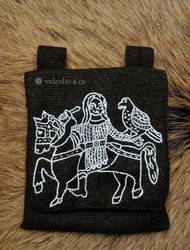 Great Moravian Falconer - bag by veruce