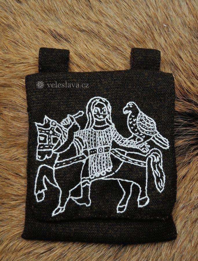 Great Moravian Falconer - bag by veruce