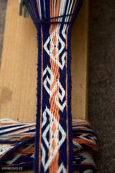 Hallstatt tablet weaving WIP