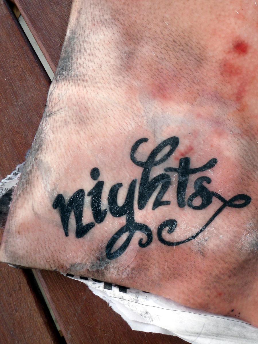 Pig skin nights by bub y rick on deviantart for Pig skin tattoo