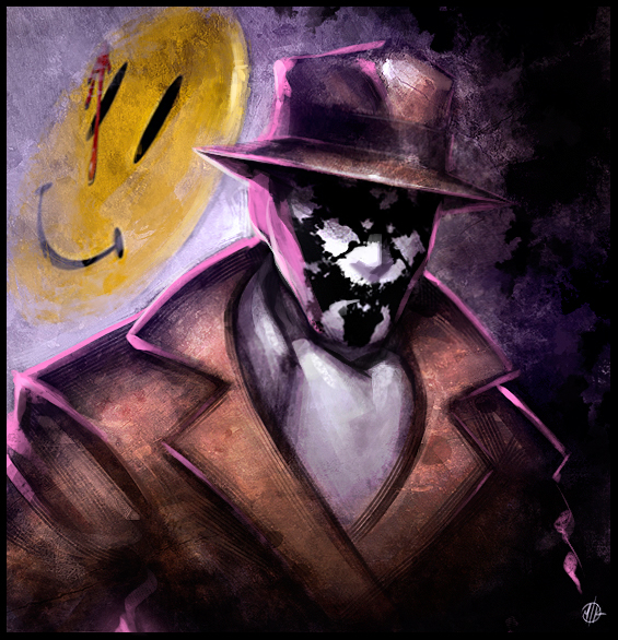 Rorschach by IronShrineMaiden