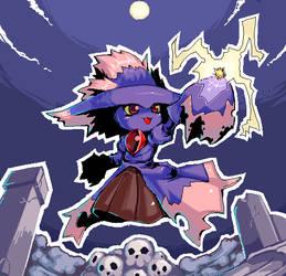 Pokemon Mismagius by super-mican