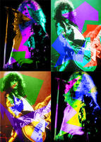 Led Zeppelin Warhol-design by xrockxxandxxrollerx