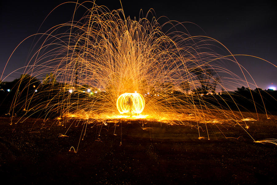 steel wool photography by theman99808