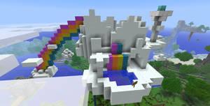 My Little Minecraft Home by Citrus--Rain