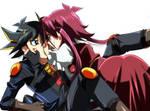 Yusei x Aki x3