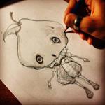 Mr. Pear Sketch