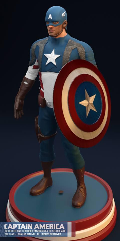 Captain America by venomx