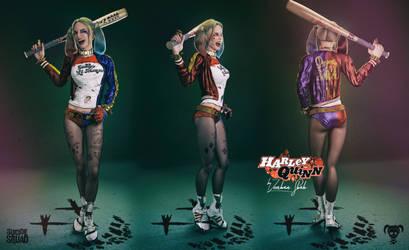 3D Harley Quinn