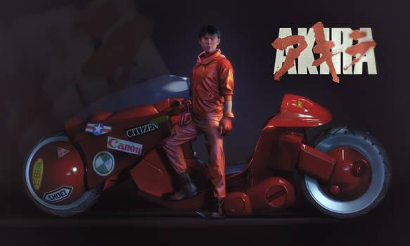Kaneda from Akira
