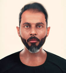 3D Self Portrait Passport Photo Version
