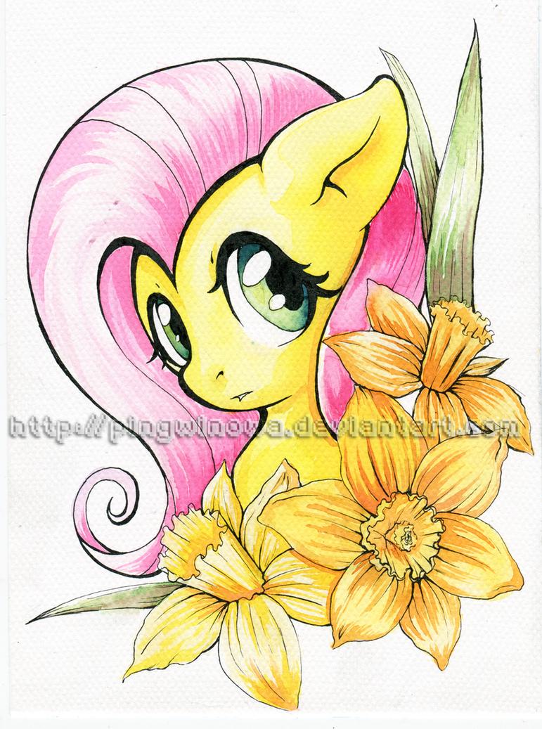 daffodil by Pingwinowa
