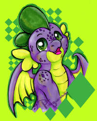 violet scales by Pingwinowa