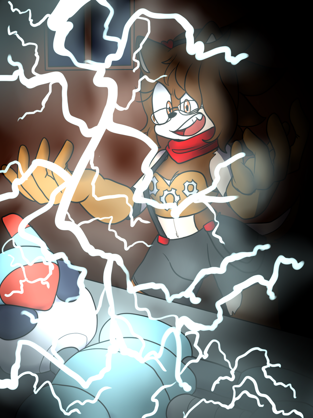 .:CM:. Shock therapy by Yukidog674