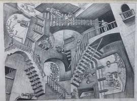 Rendition to MC Escher