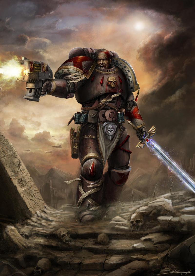 Warhammer 40k death company wallpaper - By Mykmyk140
