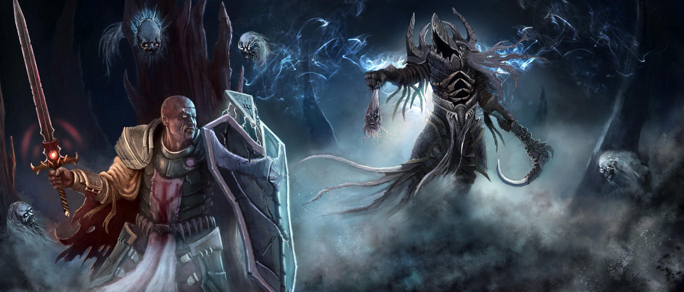DIABLO 3 Into The Light by mykmyk140