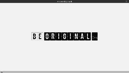 Be original by Koni326