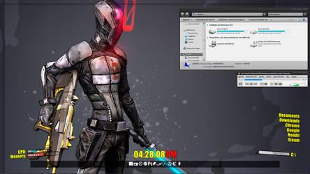 Borderlands 2 Desktop by Koni326