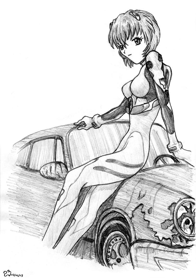Rei Ayanami by bardiel66