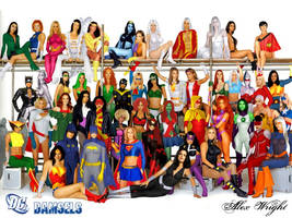 Women of the DCU by TheWrightMan