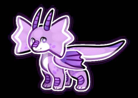 {open OTA} Very Simple Cute Dragon by Alisenokmice