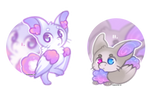 {closed} {Torimori Auction} Poodle Bunnies