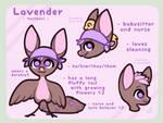 {NPC Torimori} {Lavender - Reference and Info} by Alisenokmice
