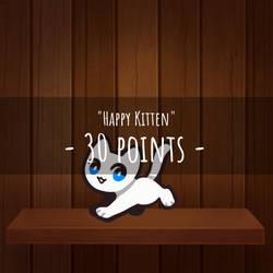 {p2u} Happy Kitten base
