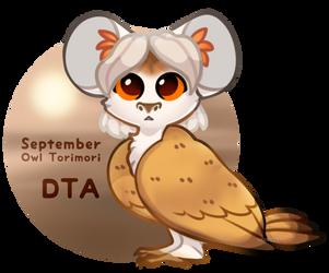 {Winner Announced} {DTA} September - Owl Torimori! by Alisenokmice