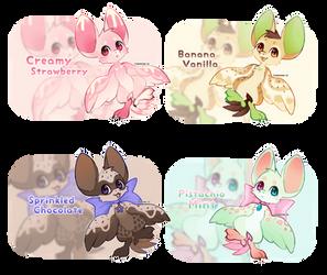 {closed} {Torimori Auction + Raffle} Ice Creams by Alisenokmice