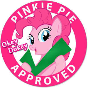 Thief King's Updates Smiling_pinkie_pie_approved_stamp_by_9qsm78-d4t0t3y