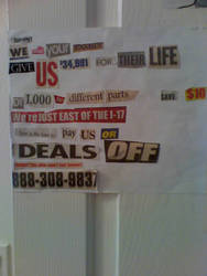 Ransom Note by Sausabe