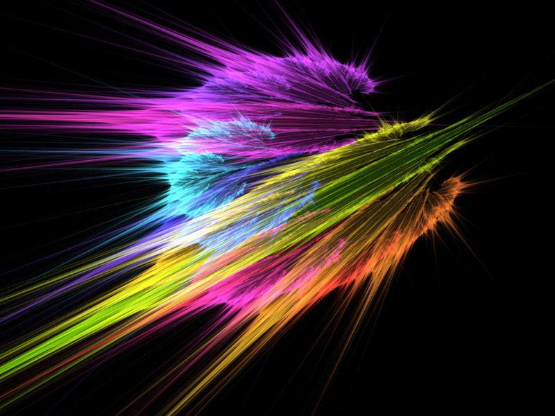 rainbow fractal wallpaper - photo #24