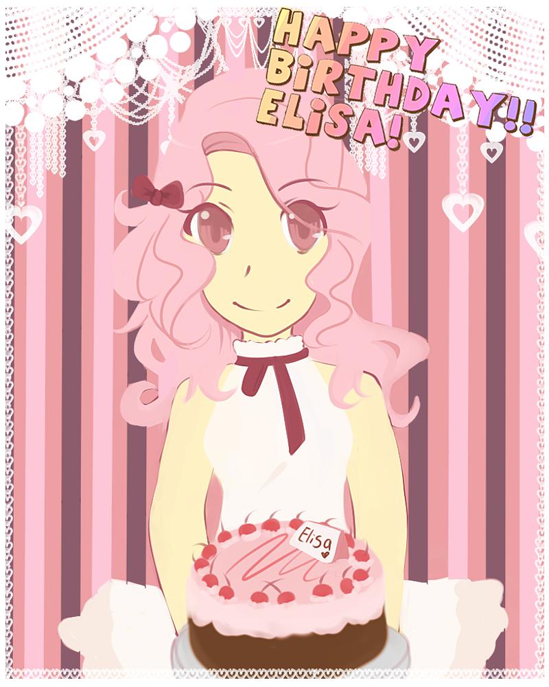 HAPPY BIRTHDAY ELISA By Natsuki12 On DeviantArt