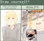 Draw Yourself Meme by Natsukoii