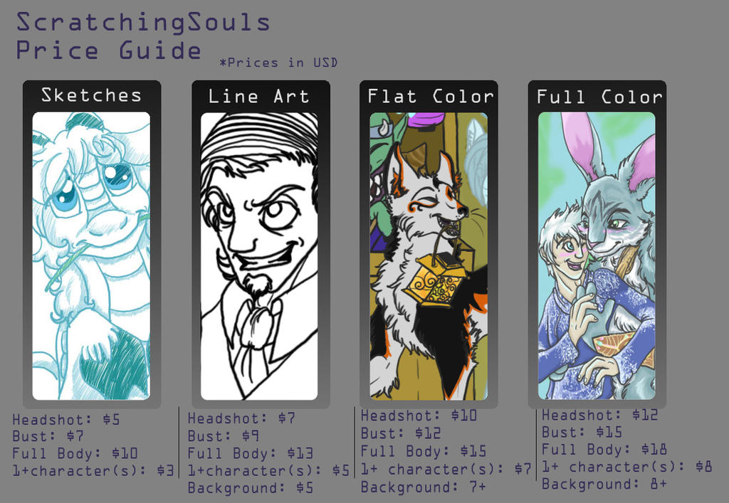 ::Fresh hot commissions:: [CLOSED] by ScratchingSouls