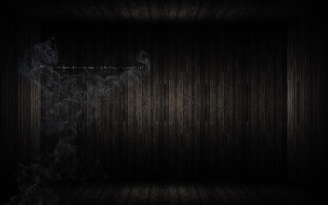 Smoke Blue Wall Decor : D old wooden wall smoke quote by kuzashi on deviantart
