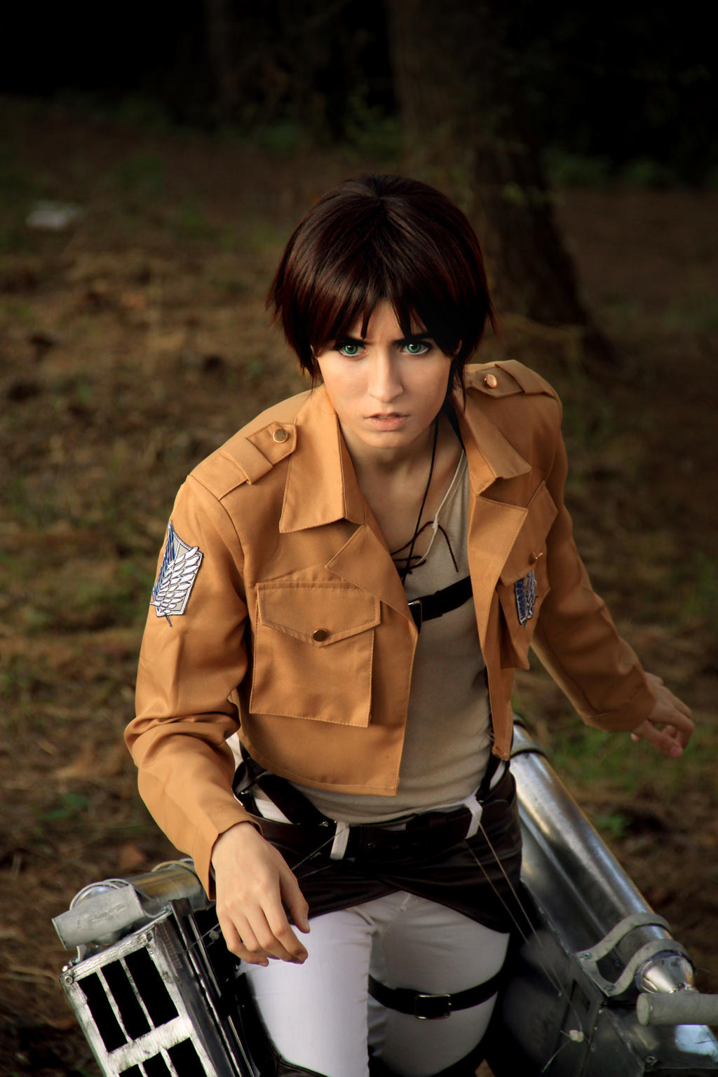 Eren Jaeger, Shingeki no Kyojin 05 by Doriri-chan