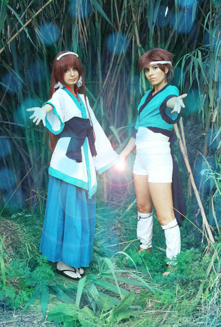 Hikari x Manaka, Nagi no Asukara (Ofunehiki) 02 by Doriri-chan
