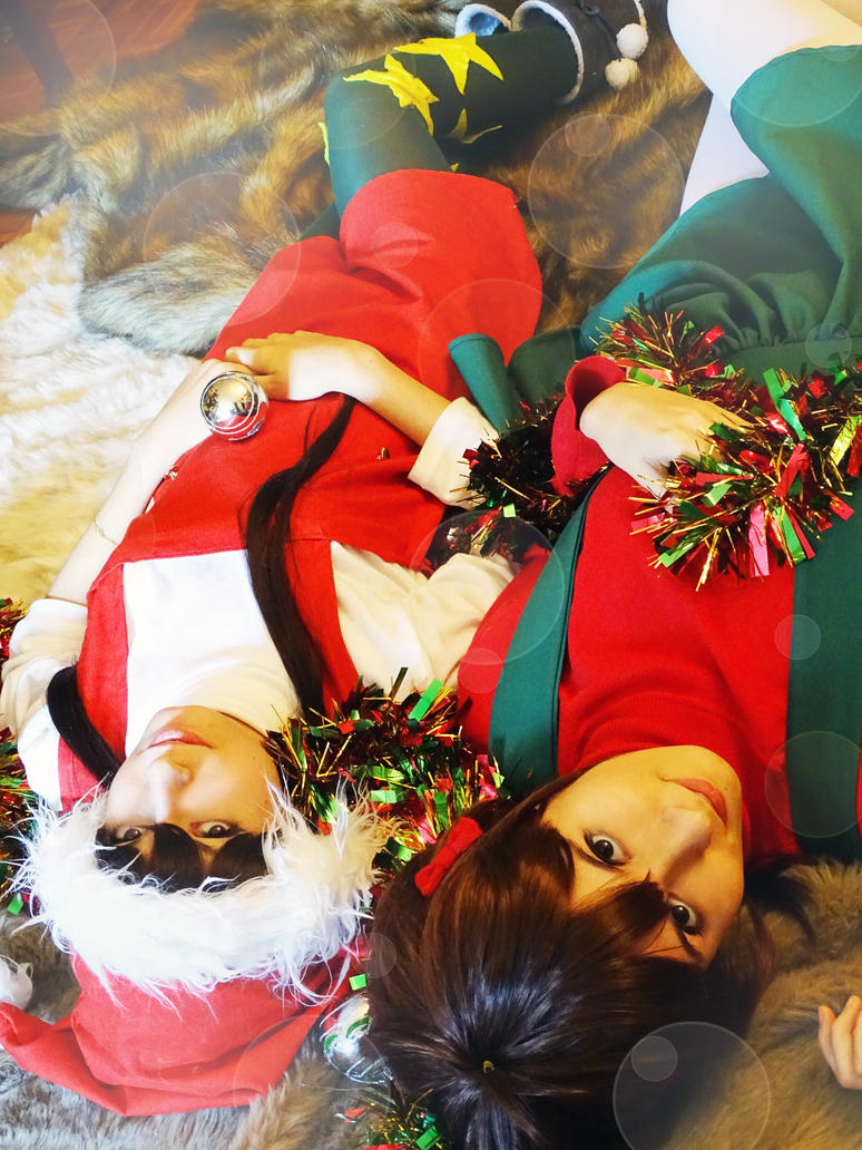 Nagisa and Fuko, Clannad (Christmas) by Doriri-chan
